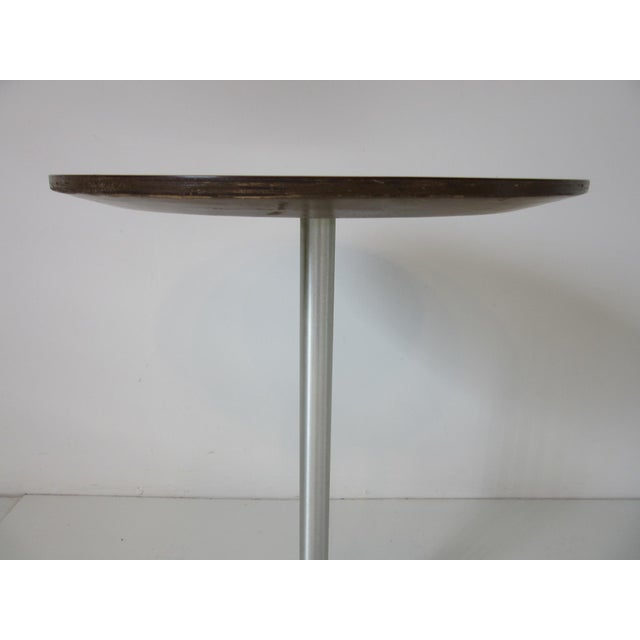 Contemporary Thonet Drink / Cigarette Side Table For Sale - Image 3 of 8