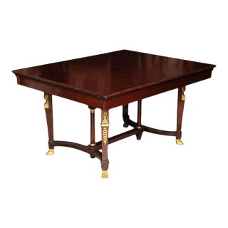 Empire Style Dining Room Table For Sale
