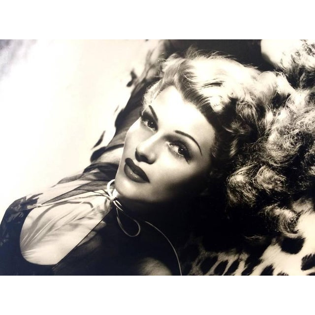 Black and White Rita Hayward Photograph by George Hurrell For Sale In Palm Springs - Image 6 of 9