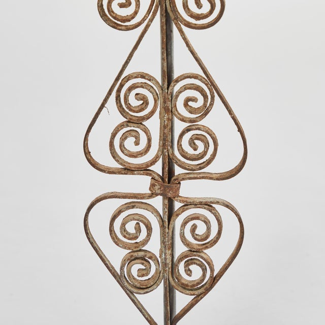 Brown 19th Century Victorian Iron Lamps For Sale - Image 8 of 9