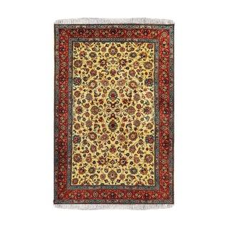 "Perisan Sarouk Wool Rug- 6' 6"" X10"" For Sale"