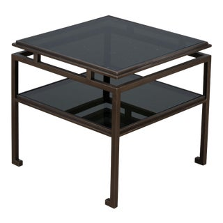 Turned Modern Table For Sale