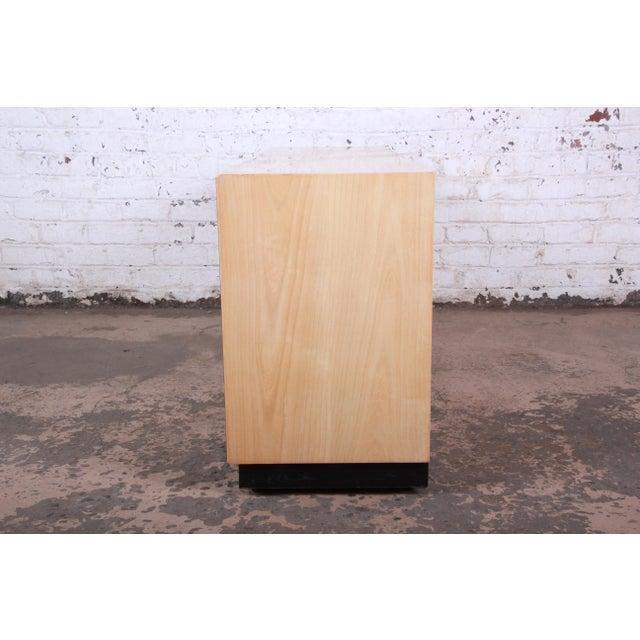Burl Wood Long Dresser Credenza by Henredon For Sale - Image 11 of 13