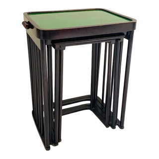 Josef Hoffmann Nesting Tables, Set of 4 For Sale