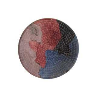 Burnished Ceramic African Plate