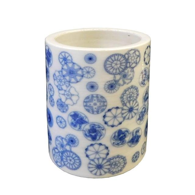 Chinese Blue & White Porcelain Vase - Image 2 of 6