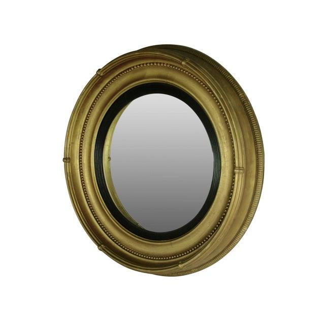 Regency Style Giltwood Convex Mirror - Image 4 of 8