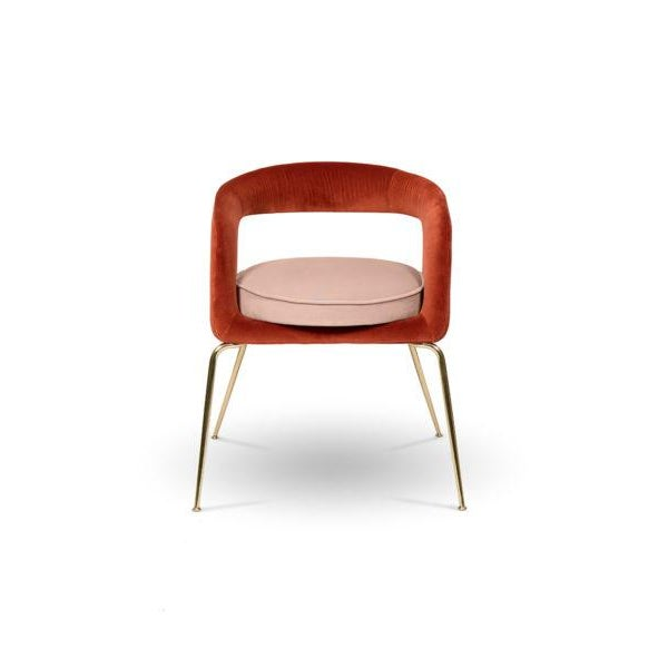 Brass Ellen Dining Chair From Covet Paris For Sale - Image 7 of 7