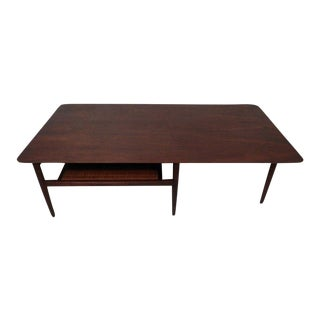 Mid Century Modern Coffee Table w/ Shelf