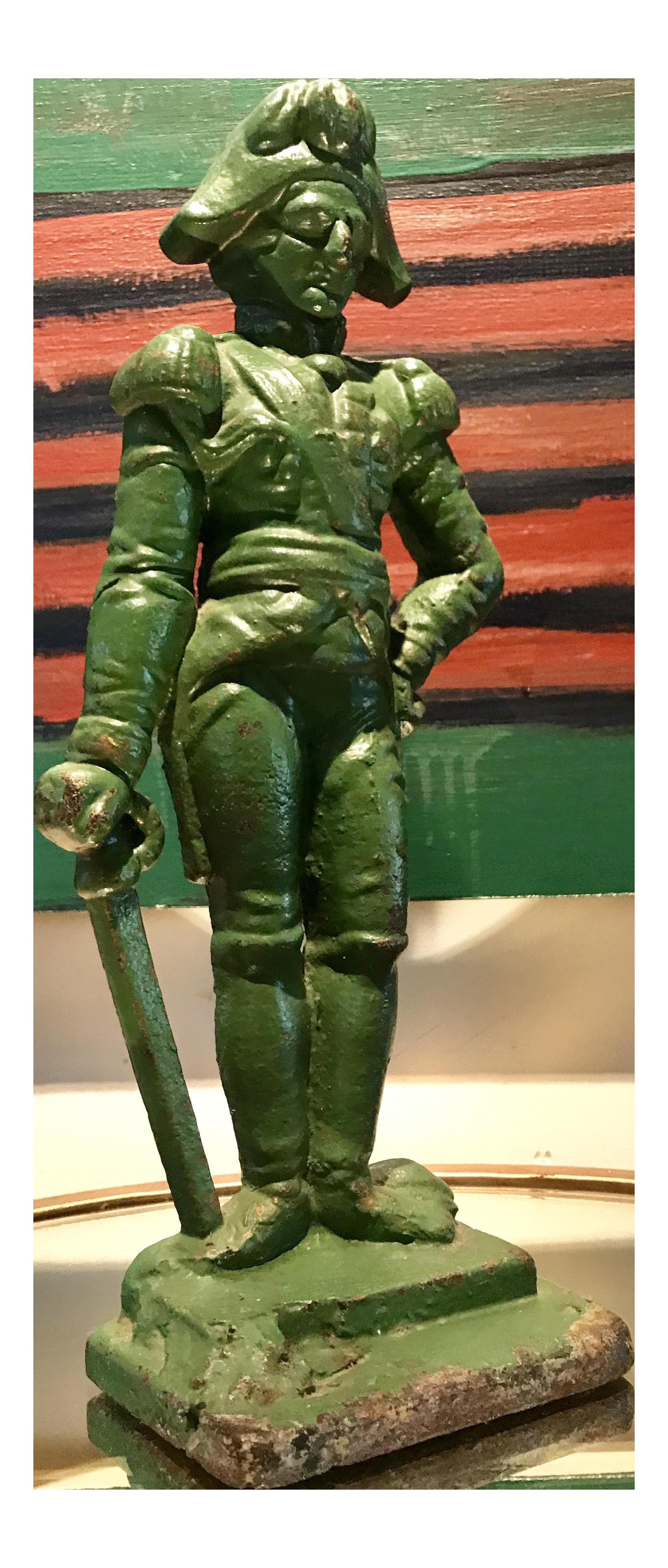 Cast Iron Doorstop   Napoleon