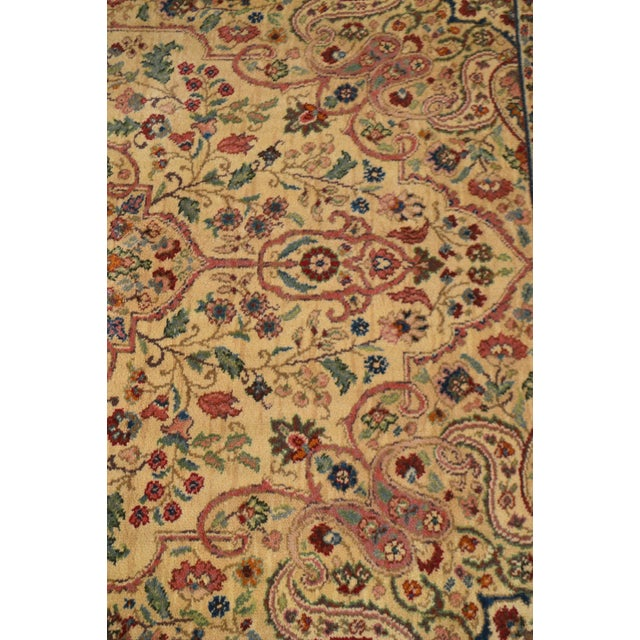 Textile Karastan Tabriz Medallion Samovar Tea Wash 5'9 x 9' Rug For Sale - Image 7 of 12