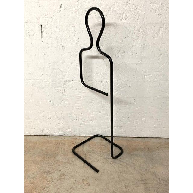 Black Pierre Cardin Figural and Sculptural Valet Coat or Towel Rack For Sale - Image 8 of 10