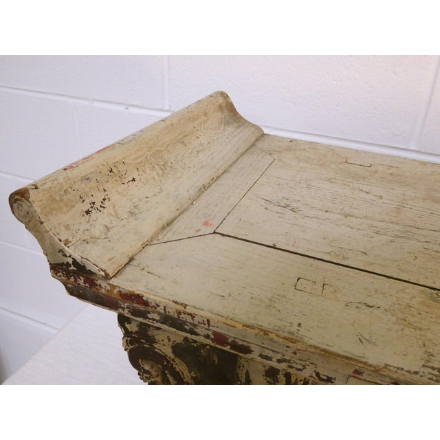 Antique Ming Altar Table For Sale - Image 5 of 11