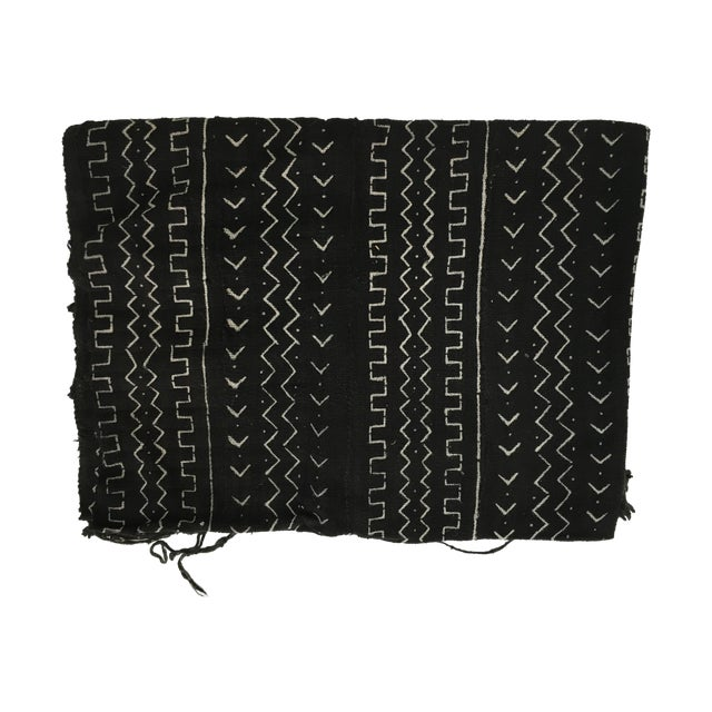 Authentic African Mud Cloth Fabric - Image 1 of 3