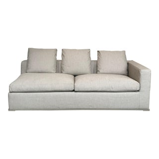 Modern Antonio Citterio Maxalto 'Omnia' Right End Sleeper Sofa For Sale
