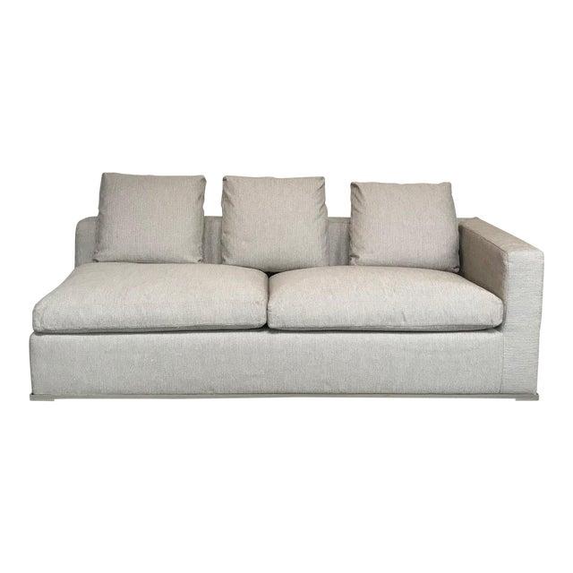 Modern Antonio Citterio Maxalto 'Omnia' Right End Sleeper Sofa