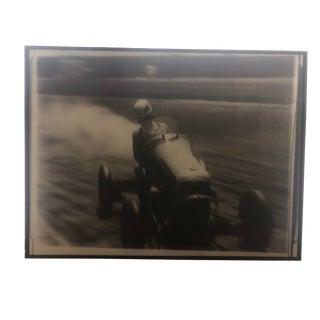 """Modern """"Race Car Driver I"""" Framed Print by Chris Dunker For Sale"""