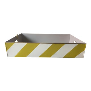 Stray Dog Designs Striped Chelsea Tray