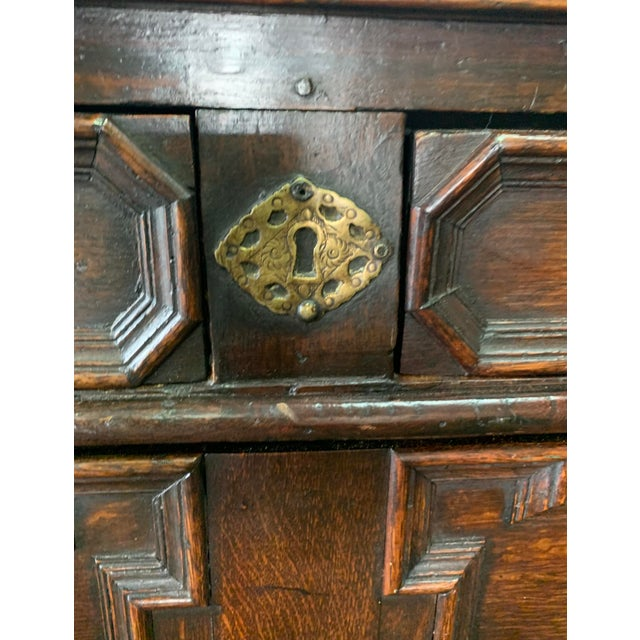Jacobean Antique Jacobean Style Chest For Sale - Image 3 of 5