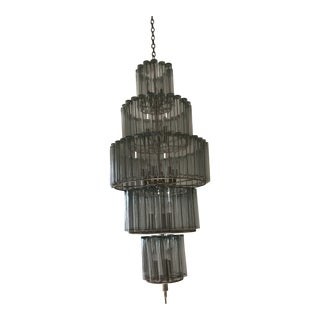 Currey and Company Bevilacqua 18 Light Chandelier For Sale