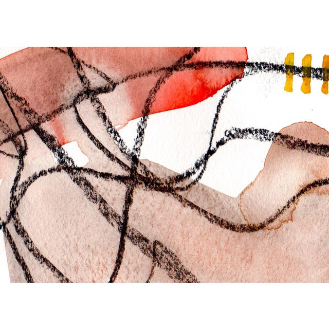 """""""Shoestring"""" Watercolor Painting - Image 3 of 3"""