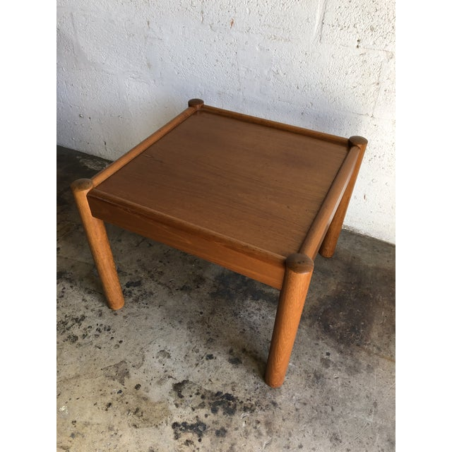 Vintage Mid Century Danish Modern End Table. For Sale In Miami - Image 6 of 10