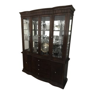 China & Crystal Display Cabinet For Sale