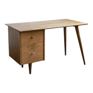 1950s Mid-Century Modern Winchendon Furniture Company Paul McCobb Planner Group Tanker Desk For Sale