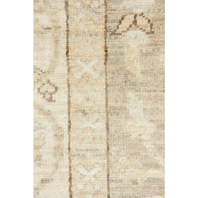 "Oushak Hand Knotted Runner - 2'9"" X 9'9"" - Image 3 of 3"