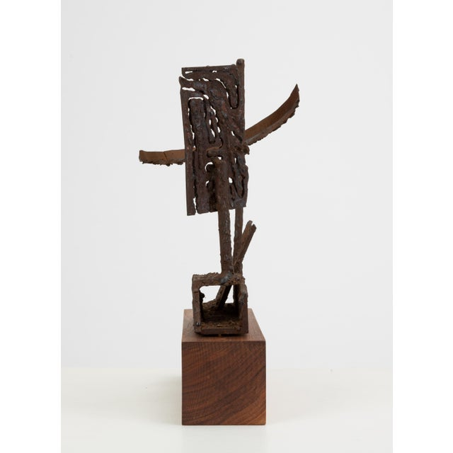 Brutalist Mounted Brutalist Figurine For Sale - Image 3 of 11