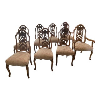 "Louis XV ""Beaucaire"" Romweber Dining Room Chairs - Set of 8 For Sale"