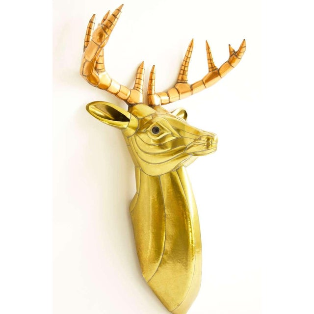 Modern Sergio Bustamante Stag Head For Sale - Image 3 of 10