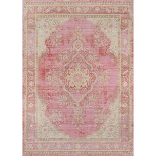 Momeni Isabella Alisha Pink 4' X 6' Area Rug For Sale