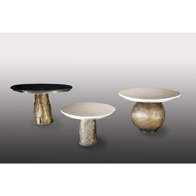 Bronze Re: TBPY1.3.5 H.36, H.40, H.42 x 44 Diam 66x60cm (plateau)