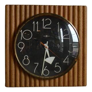 Arthur Umanoff for Howard Miller Wall Clock For Sale