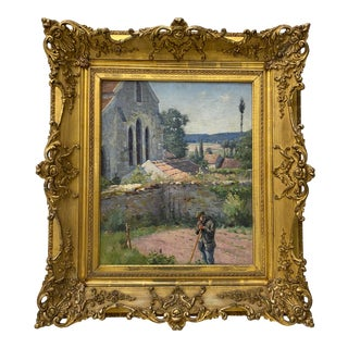 19th Century European School Oil Painting For Sale