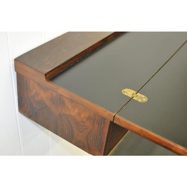 Flip Top Rosewood Console by Arne Hovmand-Olsen For Sale In Boston - Image 6 of 8