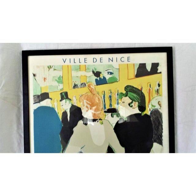 Framed Henri Toulouuse Lautrec French Lithograph For Sale - Image 4 of 6