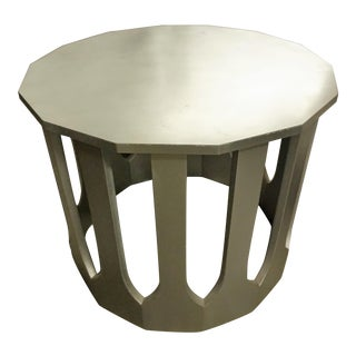 Harvey Probber Silver Center Table For Sale