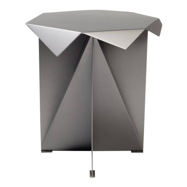 One of Two Dart Side Tables by Harry Clark For Sale