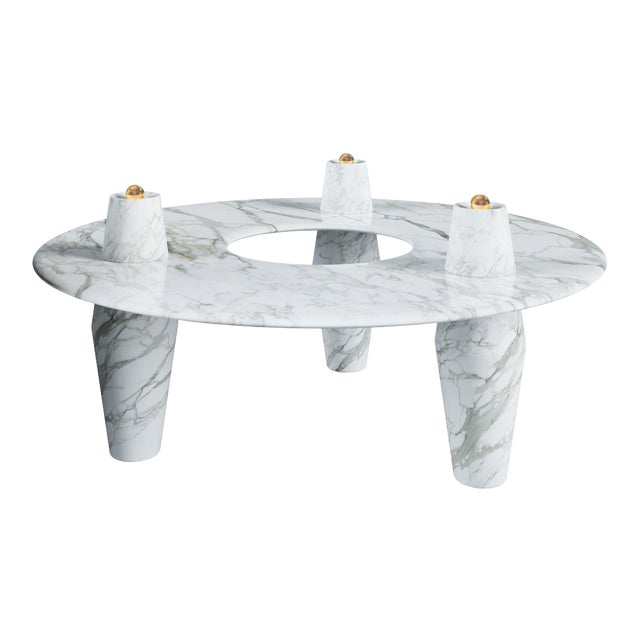 Orbit Coffee 2.0 Table by Artist Troy Smith - Contemporary Design - Artist Proof - Custom Furniture - Limited Edition For Sale