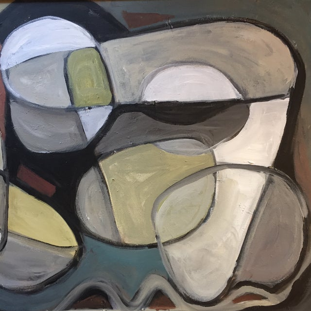Original Abstract Painting by Stewart Ross For Sale - Image 4 of 7