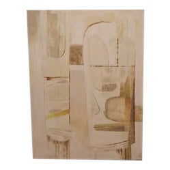 Neutral Abstract Art, by Norman Daly For Sale