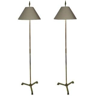 Maison Jansen Floor Lamps - a Pair