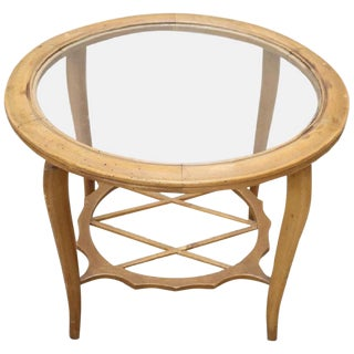 20th Century Italian Design Coffee Table Paolo Buffa, 1940s For Sale