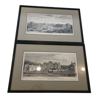 Framed French Landscapes - A Pair For Sale