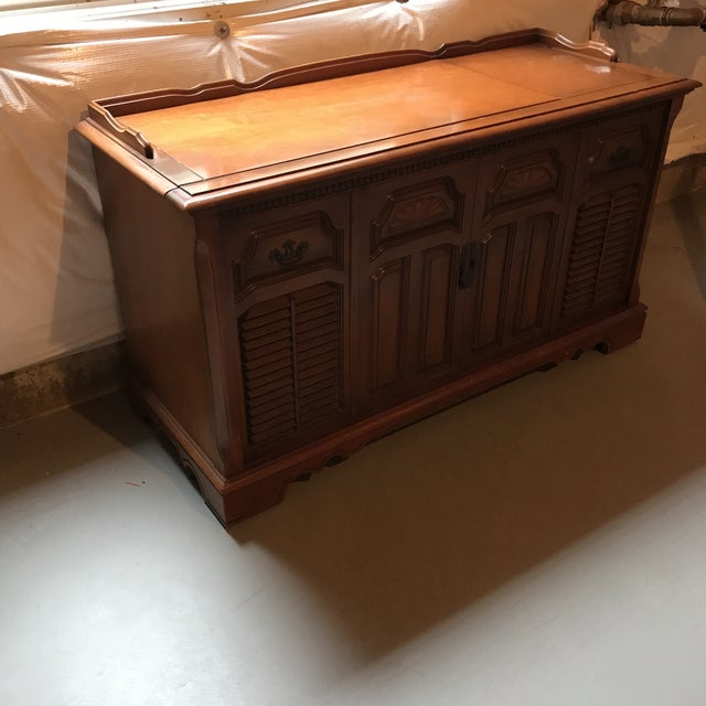 1972 RCA Cabinet Record Player