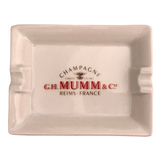 Vintage G.H. Mumm & Co. Cigar Ashtray