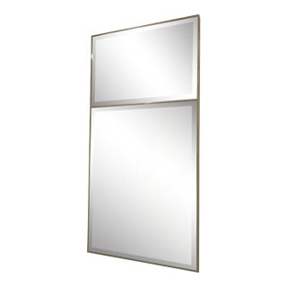 Made Goods Faux Shagreen Wall Mirror For Sale