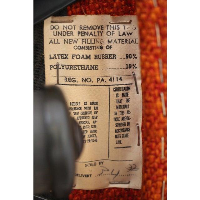 Adrian Pearsall Orange Highback Lounger - Image 5 of 5